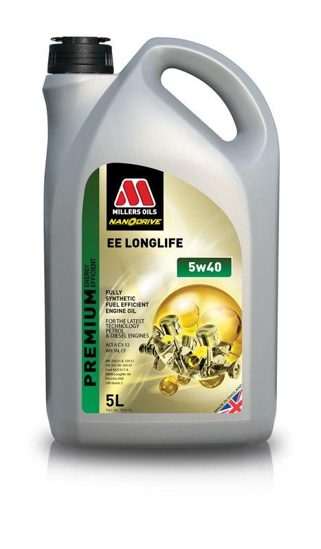Millers oils EE LONGLIFE 5w40 - 5L