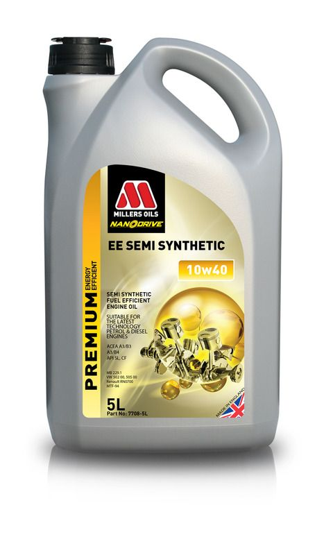 Millers oils EE Semi Synthetic 10w40 - 5L