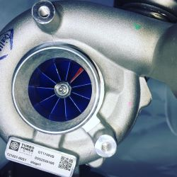 NEW Hybrid Turbocharger 721021stage1