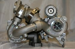 NEW Turbocharger 1000-970-0026, Bi-Turbo R2S Bi-Turbo (KP35 + K04)