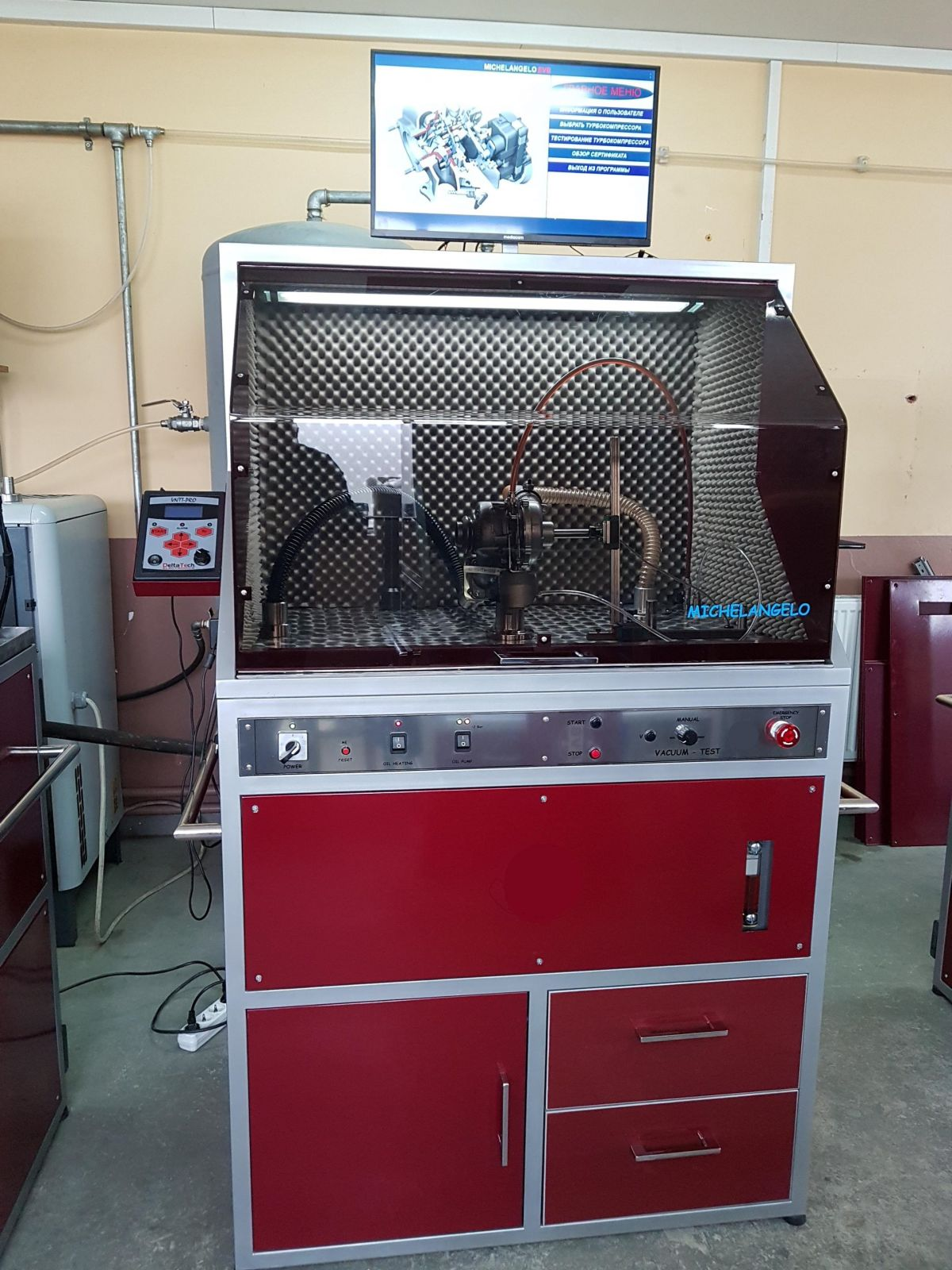 Turbo Testing Machine Turbo Power Limited