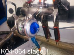 NEW Turbocharger K04-064DV, upgrade for EA113 KKK K04